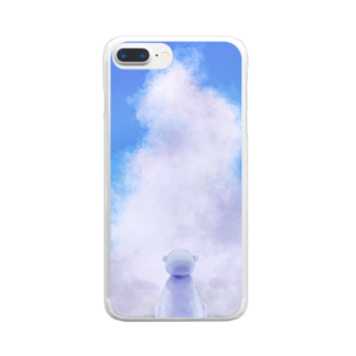 Synchkrieのさびしかったんだ Clear smartphone cases