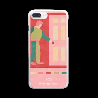 新井リオの【2019.07.28】新井リオの英語日記グッズ Clear smartphone cases