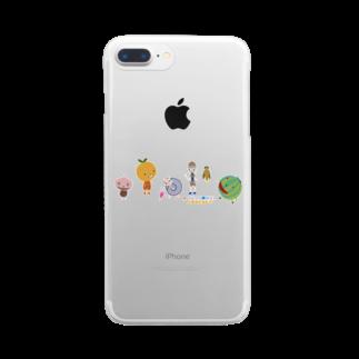 nachau7のアメリアさんの季節の旅 Clear smartphone cases