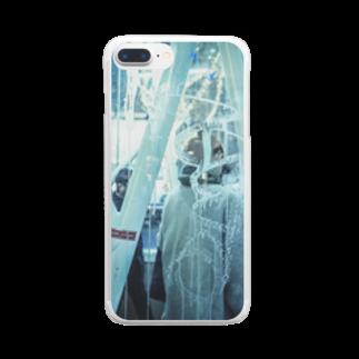 アリムラ アメ@アリネコのarineko_color 街×日常 Clear smartphone cases