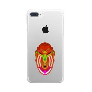 カレヤマカラ Clear smartphone cases