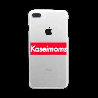 shishimairmkのkaseimoms Clear smartphone cases