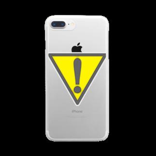 AURA_HYSTERICAのAlert Clear smartphone cases
