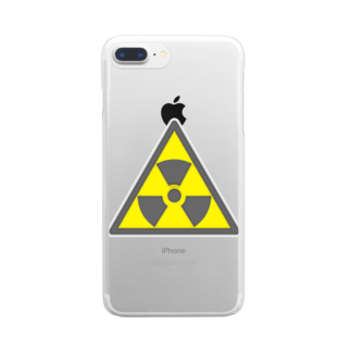 AURA_HYSTERICAのRadiation_S Clear smartphone cases