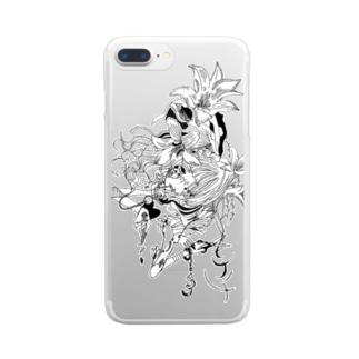 nagatsuki / hitotose Clear smartphone cases