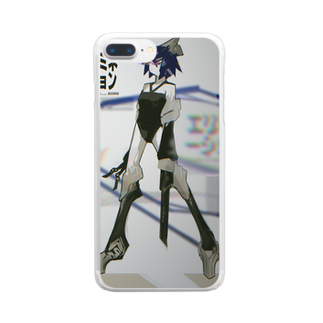 SHIDEN for SUZURIのエリミネーション Clear smartphone cases