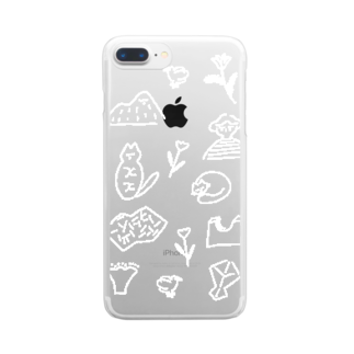 ISOSHOPのおだやか Clear smartphone cases
