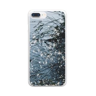 水辺_2 Clear smartphone cases
