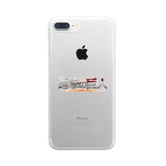 進撃の巨人 Clear smartphone cases