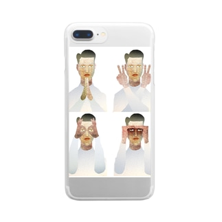 PAN・Ⅱ・MARU・MIE Clear smartphone cases