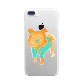 I・N・U Clear smartphone cases