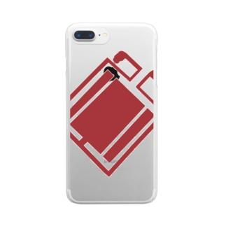 オリジナル Clear smartphone cases