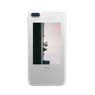 LotuswestのFlowers Clear smartphone cases