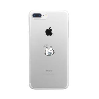 ばぶ返り Clear smartphone cases