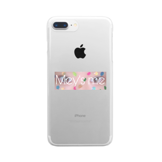 Mey's meのHi Clear smartphone cases