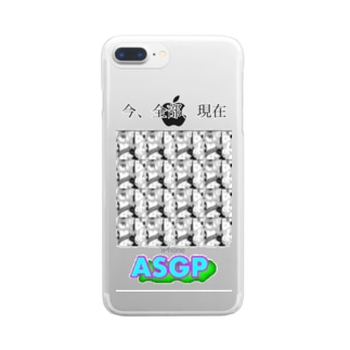 時飛ばしの夜に Clear smartphone cases