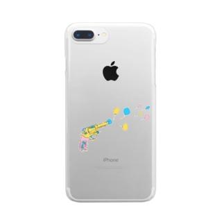 ふうせん。 Clear smartphone cases