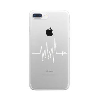生命線 _ bright Clear smartphone cases