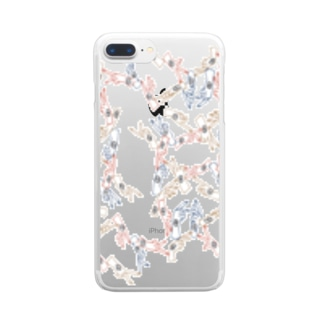 からふるはんどくん Clear smartphone cases
