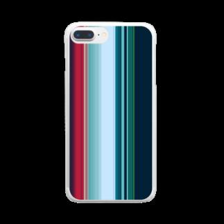 かすみ草の極彩 Clear smartphone cases