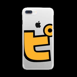 おもしろいTシャツ屋さんのピ Clear smartphone cases