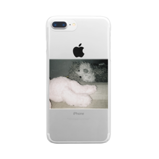 ncncccncのうさぎとこたつ Clear smartphone cases