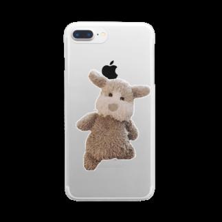 ncncccncのキメこた Clear smartphone cases