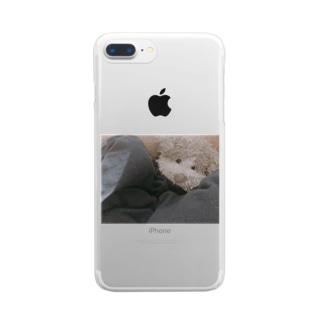 上目こた Clear smartphone cases