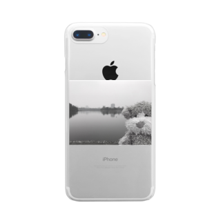ncncccncのこたつin the lake Clear smartphone cases