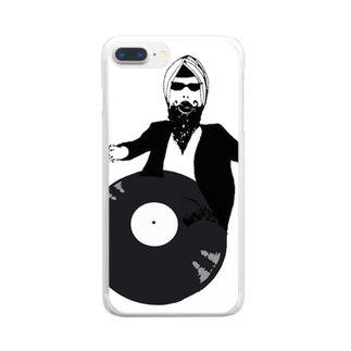 Botchy-Botchy (ボチボチ)のBollywood records Clear smartphone cases