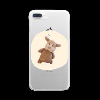 ncncccncのこた Clear smartphone cases