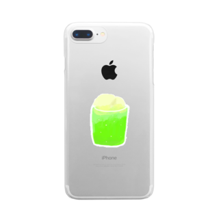 omameshimejiの夏 Clear smartphone cases