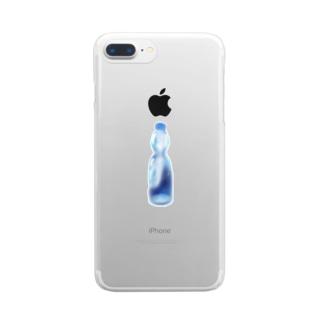 ラムネ Clear smartphone cases
