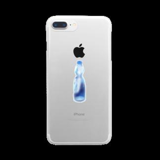 めろんそーだ。のラムネ Clear smartphone cases