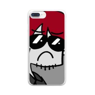 お前、リオタ・ナカムラやな。 Clear smartphone cases