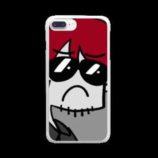 りおたのお前、リオタ・ナカムラやな。 Clear smartphone cases