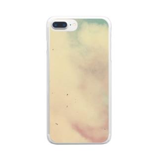 質素に Clear smartphone cases