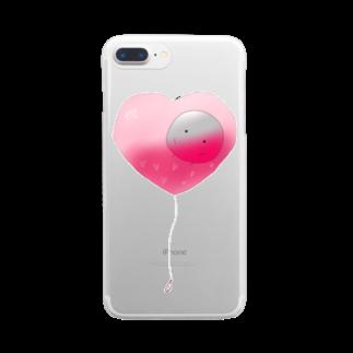 無脳くんの溺れたぴおかくん Clear smartphone cases