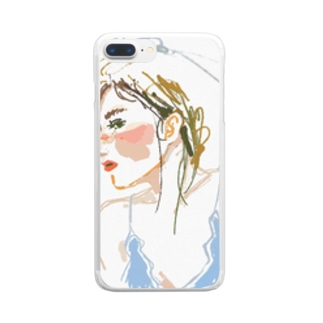 July bride Clear smartphone cases