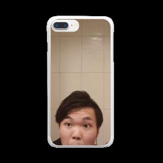 Reiji Shiratoriの突然 Clear smartphone cases