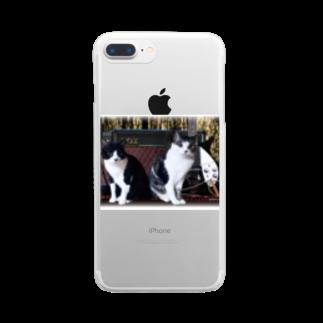 nogiku-designのNo.2 スポンキーさんリクエスト♪ Clear smartphone cases