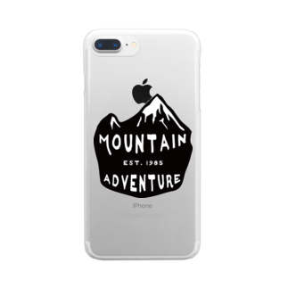 BASE-CAMPのBASE MOUTAIN 02 Clear smartphone cases