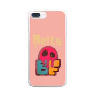 BAD FACTORYのMelty Clear smartphone cases