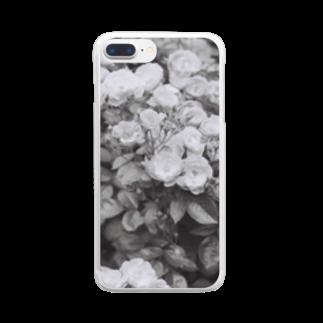 kio photo worksのflowers  Clear smartphone cases
