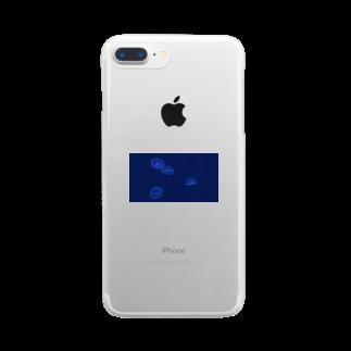 ユソのくらげ Clear smartphone cases