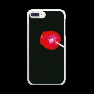 しんたにさんの🍎 Clear smartphone cases