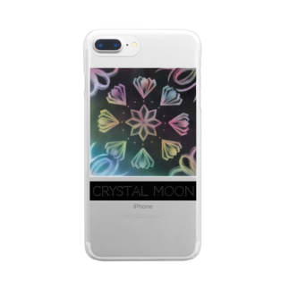 Colorful MoonのCRYSTAL MOON tanabata Clear smartphone cases