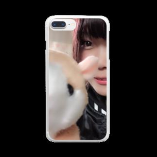 地獄の底辺から                                                 の絆 Clear smartphone cases