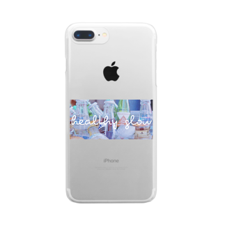 x_x_xのhealthy glow Clear smartphone cases