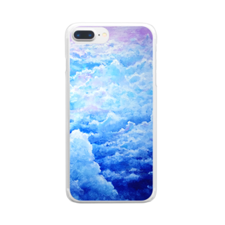AWESOME CLOUDのsora Clear smartphone cases